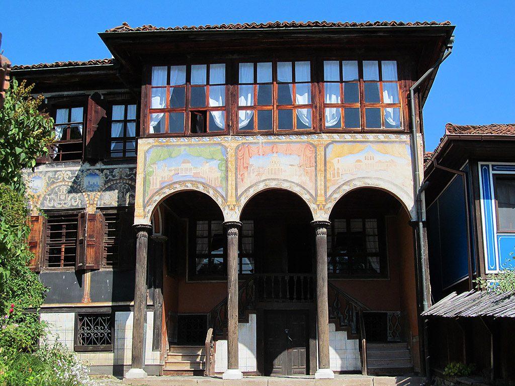 Oslekov house