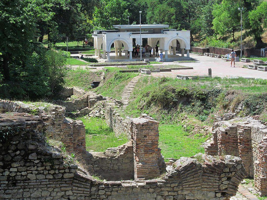 Hisarya - late Roman ruins & Maiden Tear Spring
