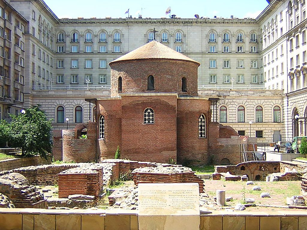 Late Roman Church of St. George (4-th century)