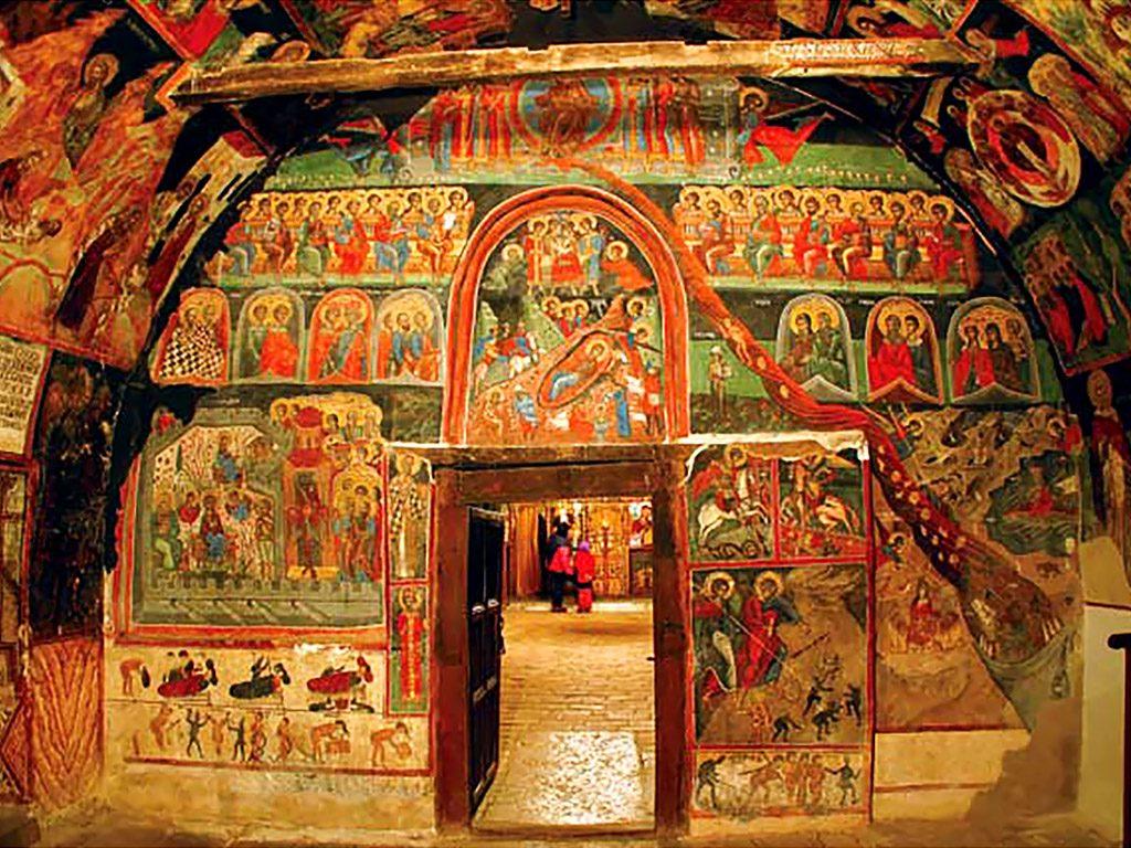 Arbanasi village - Nativity of Christ church