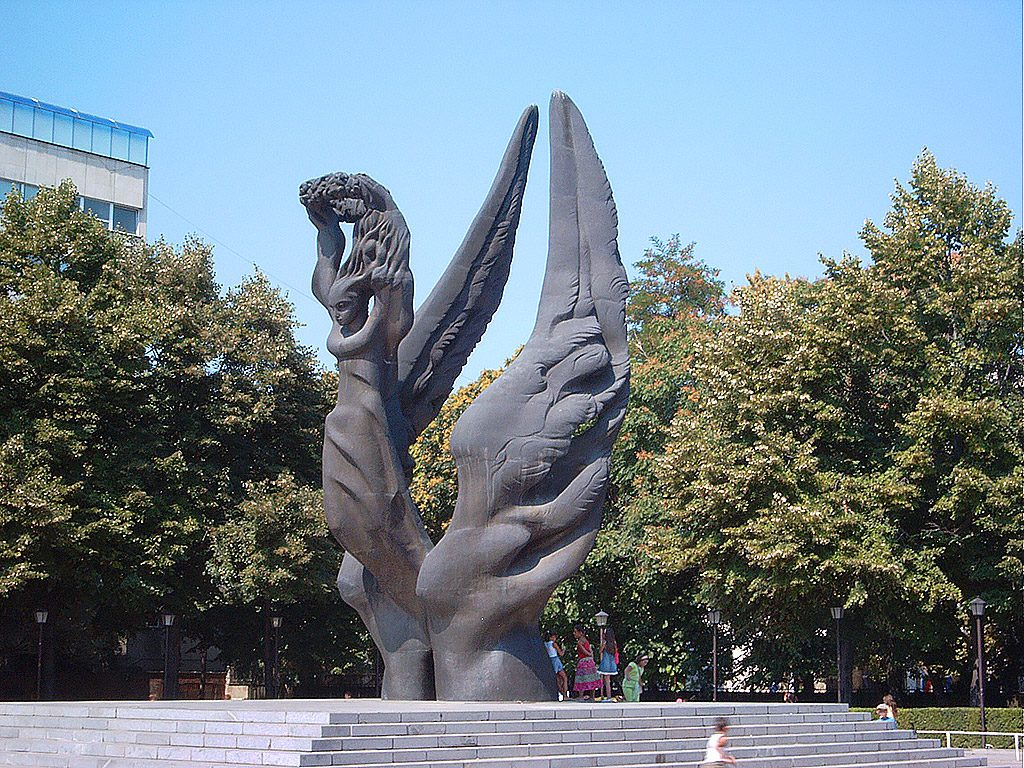 The Unification of Bulgaria monument