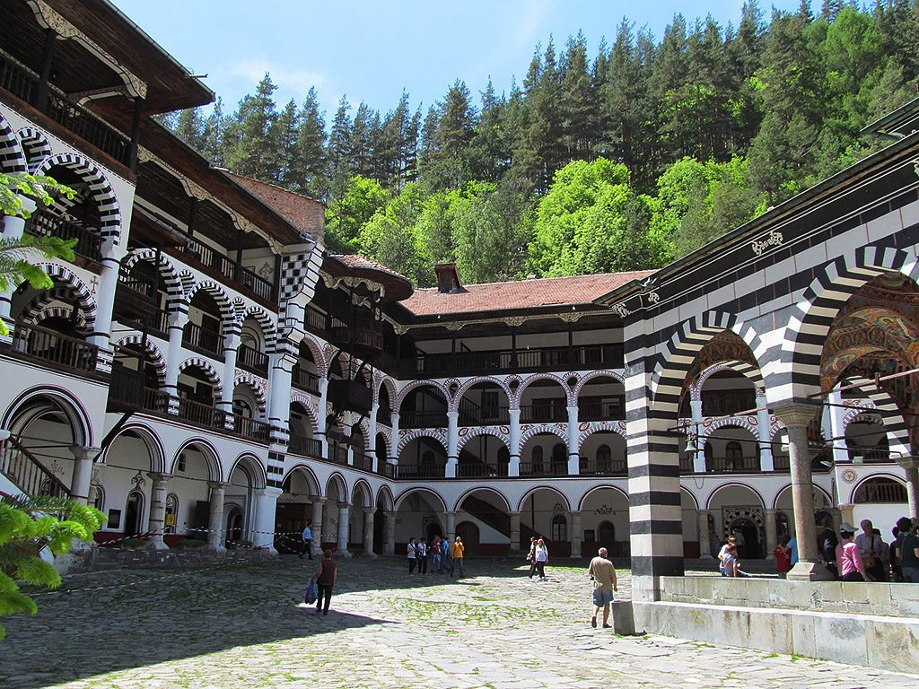 Rila Monastery residential area