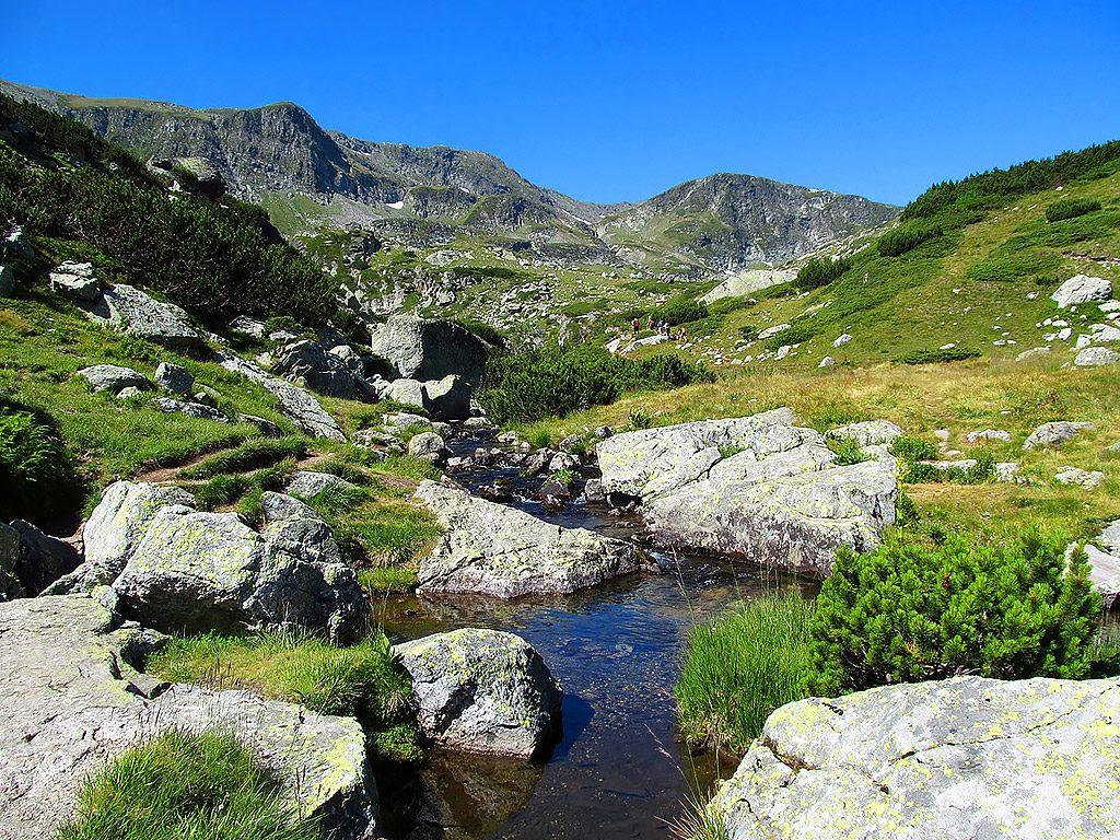 Rila Mountains stream