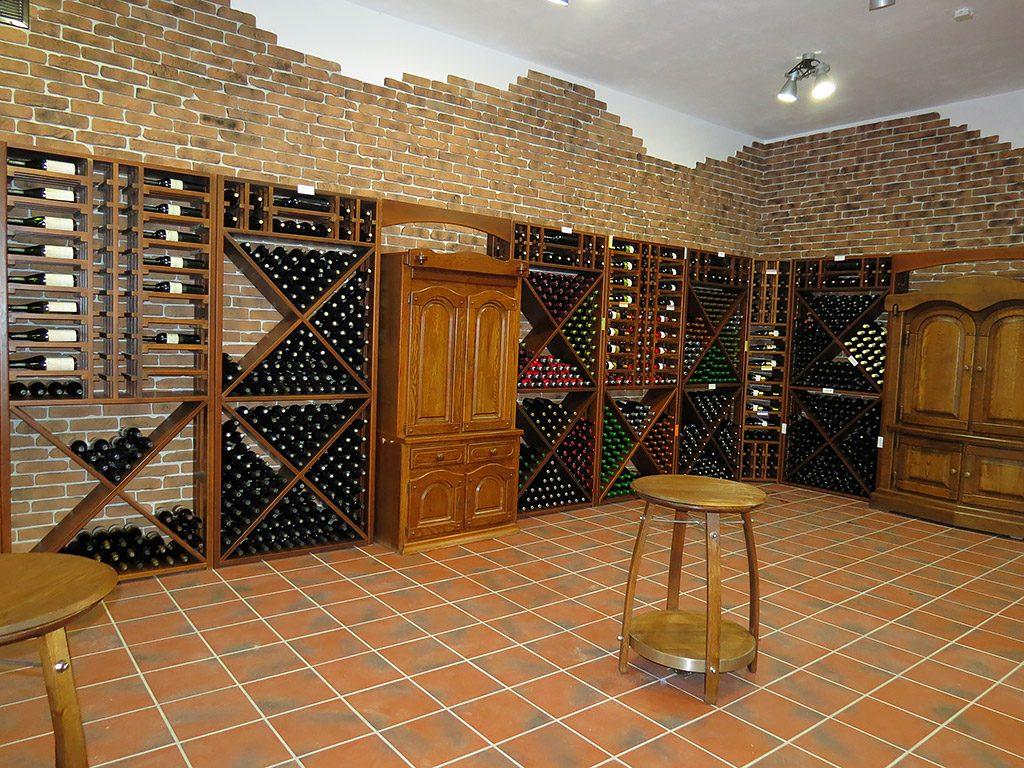 Villa Yustina boutique winery - enoteca