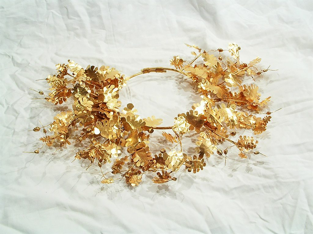 Kazanlak historical museum - the golden wreath of Seuth III
