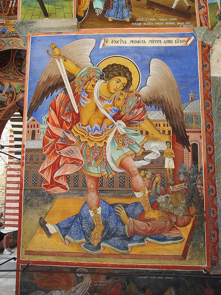 St. Archangel Michael fresco