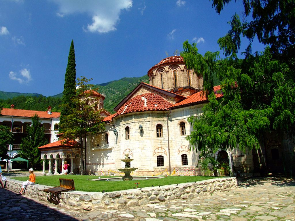 Bachkovo Monastery - main church Virgin Mary