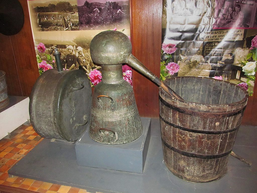 Rose museum - ancient system for rose boiling