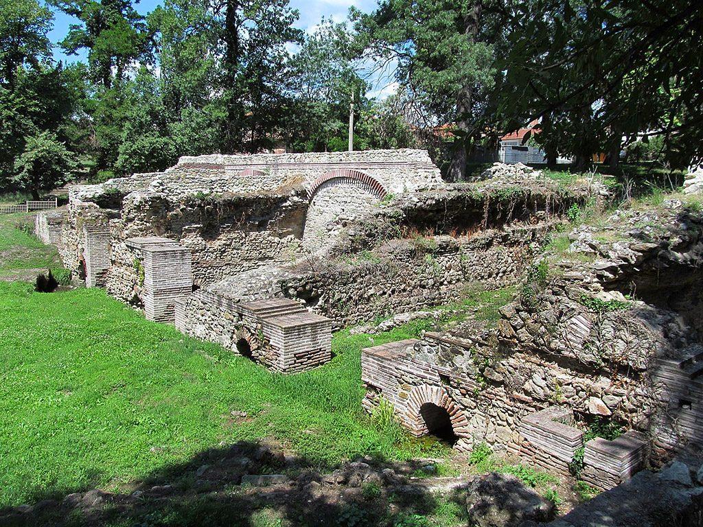 Hisarya - late Roman public building
