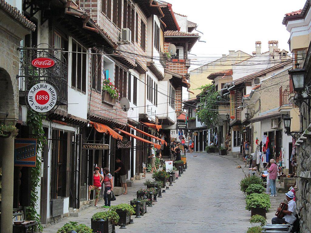 Veliko Tarnovo - Samovodskata charshia street