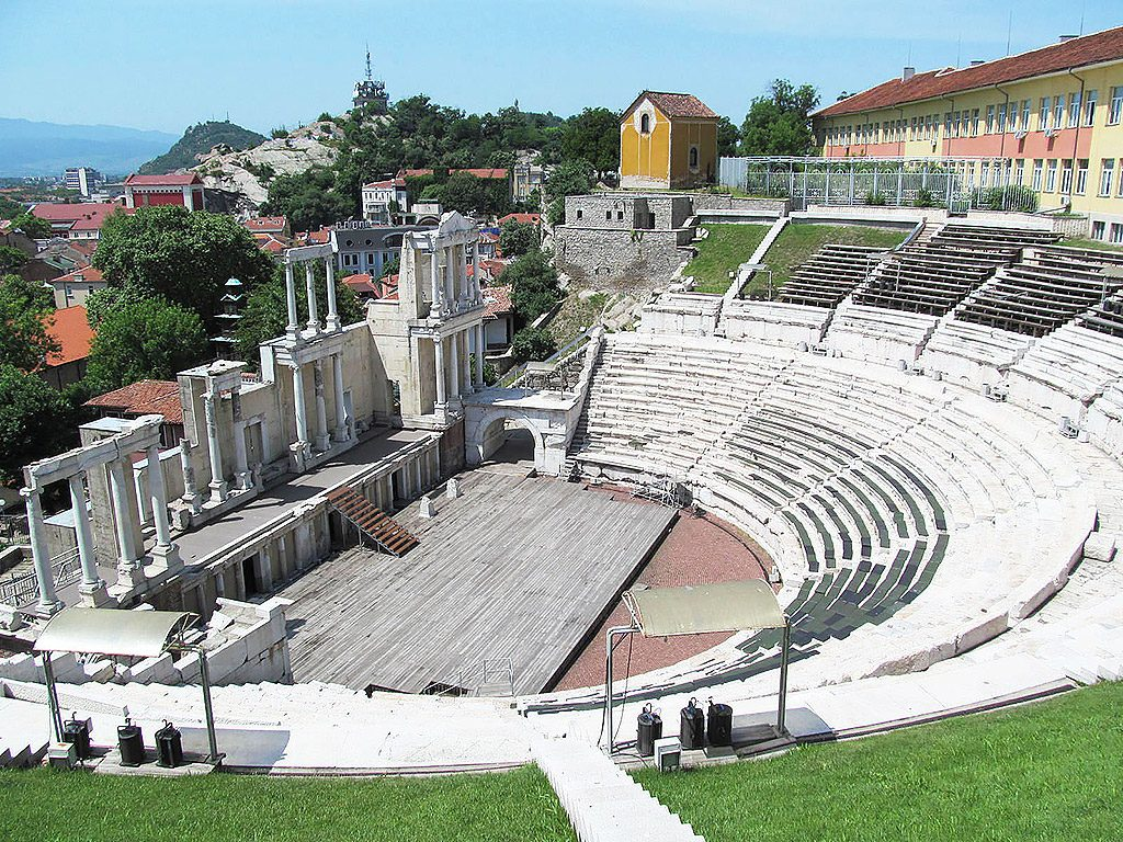 The Ancient Theatre from 1st century AD